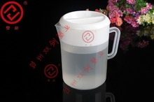 Cheap promotional 60oz PP plastic water pitcher with four cups BPA free