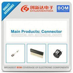 (Connedtors Supply) NYS203-U 1/4 MONO PLUG REAN BLK PLASTIC/SIL BU