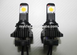 2014 New Upgrade Super bright 50W 3600 Lumen LED Headlight 9005, 9006, H10 Xenon HID LED car headlight kit