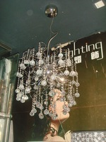 2015 TOP K9 large Decorative Modern crystal chandelier for hotel project MD7014