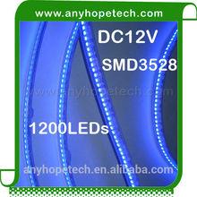 best quality DC12V outdoor or indoor strip lighting led 3528 240leds