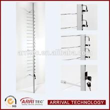 locking aluminum wall optical display bar custom rod eyewear displays