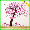 Pink Flowers Tree Living Wall Stickers art Mural Children Wallpaper
