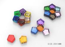 LDPE Reusable Plastic Ice Cube Plastic ice cube led