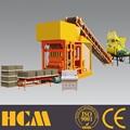 Qtj4-25 simples de médio porte do bloco de cimento máquina de fazer/bloco de concreto oco linha de produção
