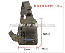New Camping Equipment Outdoor Sport Nylon Wading Chest Pack Cross body Sling Single Shoulder Bag,Men Unisex