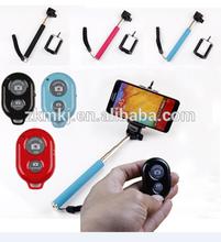 Hot handheld monopod stick and Bluetooth remote shutter