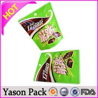 Yason customized recycle all color design high quality new pp plastic bag plastic retort bag polyethylene reclosable bag