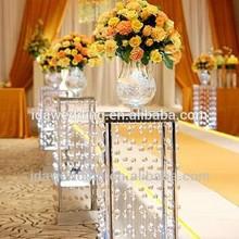 crystal wedding pedestal columns/wholesale decorative pillars and columns/elegant decorative columns for wedding decorations
