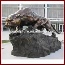 Panther Sculpture Bronze