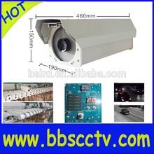 highway road street camera anpr system 2.1MP WDR flash function&intellingent light-compensating