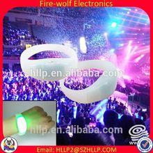 China Wholesale Party festival heart shaped wedding invitations,remote control led flashing wristband