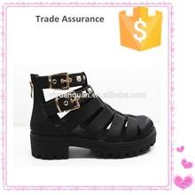 Thick heel flat leisure shoe hot sale women casual shoes