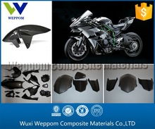 Low Price Carbon Fiber 3K Glossy Motorcycle Parts For Sale