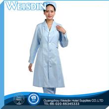 cheap price spandex/organic cotton poplin es/ss/xs/xxs hospital nurse uniform