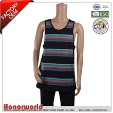 BSCI approved 20 years experience supplier cut off sleeve custom tank top