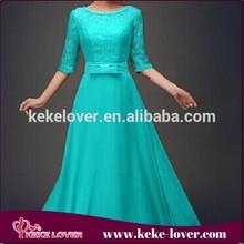 vestidos casual ladies office dresses for beach party sexy office girls designer chiffon dress blue short sleeve maxi dress