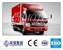 Chinese Foton Aumark light trucks/box van/box trucks in many colors
