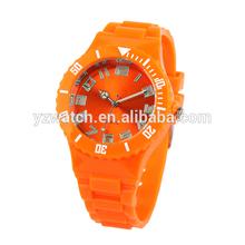 Cheap Orange color Plastic watch