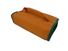 polyester cosmetic bag for traveler / cosmetic travel bag / plastic toiletry bag