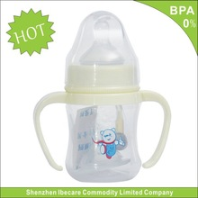 Hot sale BPA free 60ml china baby feeder small glass bottles nipples for baby bottles