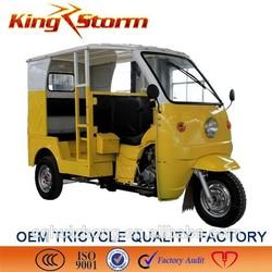 OEM quality New Gasoline 3/4/5 person three wheel passenger motorcycle