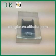 pvc,pet,pp mobile phone box case plastic packaging box