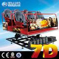 Incluyendo full hd 1080 p 3d led proyector 7d cine para el hogar