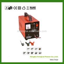 Ningbo Fengtai 6V 12V 24V Fluctuation Floating Charging Car Storage Battery Charger Intelligent Car Power Bank Car Charger