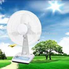 2015 air cooler solar rechargeable oscillating fan