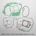 peças sobresselentes da motocicleta cg150 kit de vedação completa