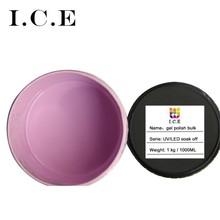nail gel uv/led cured with LED/UV lamp