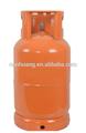 Amarillo 12.5 kilogramos fuerte de acero de calidad glp cilindros de gas