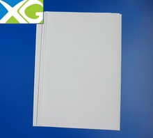 white pvc rigid film pvc raw material for bussiness card or vip card Free samples high quality made in China