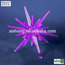 Transparent acrylic christmas ball giants, christmas crystal ball