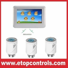 Central Control Heating System Thermostat with Thermostatic Radiator Valve