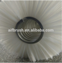 nylon anti-pull spiral wound coil roller brushes