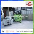 residuos quemador de aceite con el compresor