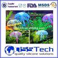 Moda eco- friendly mar animal escultura viva, aquário jellyfish, artificial aquário jellyfish