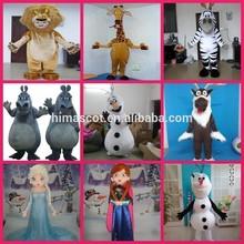 HI cartoon character mascot costumes,adult cartoon costume,custom mascot costumes