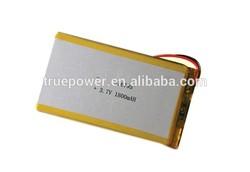 High quality GPS battery 3.7V 1800mAh