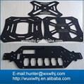 En fibre de carbone hélicoptère modèle kits, pièces et pièces de rechange