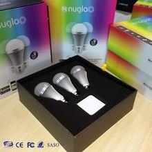 Wifi Bluetooth Wireless Controlled LED Mini Smart Light Bulb 9W E27 RGBW Lamp