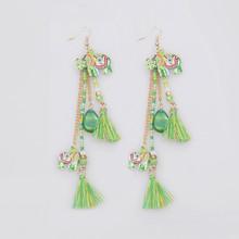 latest fashion handicraft elephant hoop earring