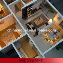 architectural building model/real estate interior model/villa house interior model