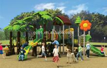 Used children outdoor playground big slides kids play toy series