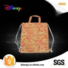 Luxury folded shopping paper bag