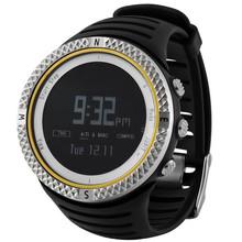 Fashional Design+FactoryFashion Mens Waterproof Shockproof Mountaineer Quartz Digital Display Wrist Watch For Gift