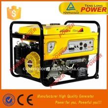 AC Phase 2.8kw 220v 50hz generator electric start