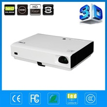 Top Quality New Anis 3000lumens Portable Mini DLP Digital 3D Projector Full HD Home cinema support 1080p Proyector